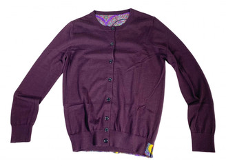 Louis Vuitton Purple Cashmere Knitwear