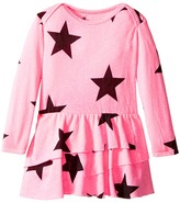 Nununu Super Soft Star Print Dress with One-Piece Skirt (Infant)