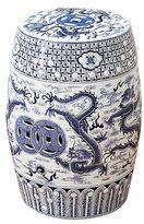 Decorative Porcelain Dragon Garden Seat