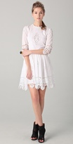 By malene birger Salisa Lace Trim Dress