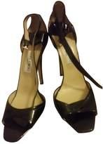 Jimmy Choo Lance Black Patent leather Sandals