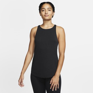 Nike Women's Ribbed Tank Yoga Luxe