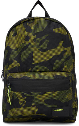 Diesel Green Camo Mirano Backpack