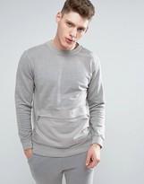 Celio Sweatshirt With Pouch Pocket