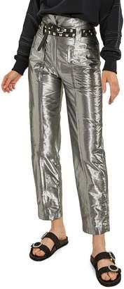 LES COYOTES DE PARIS Mohini Metallic Pants