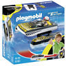 Playmobil NEW Click and Go Crocodile Speedboat