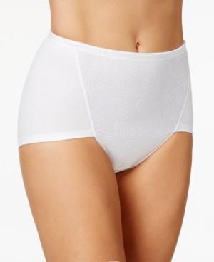 Bali Women's 2-Pack Ultra Tummy-Control Cotton Brief Underwear DF6510