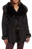 Via Spiga Women's Faux Shearling Coat