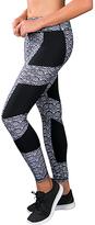 Zobha Black & Gray Roth Leggings