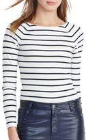 Lauren Ralph Lauren Striped Long Sleeve Top