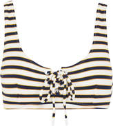 Whistles Stripe Ohio Bikini Top