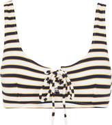 Whistles Stripe Ohio Bikini Top