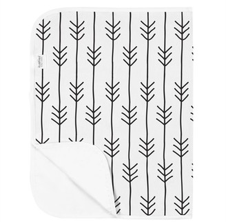 Kushies Flannel Changing Pad - One Direction Black