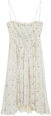 Chloé Floral Silk Georgette Dress