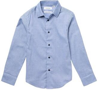 Calvin Klein Long Sleeve Stretch Dress Shirt
