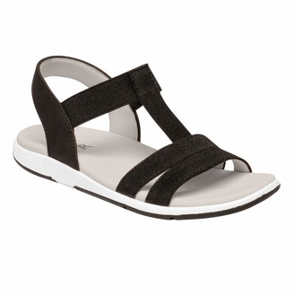 Regatta Women's Santa Maria' Elasticated Strap Lined Textile Covered Footbed Rubber Outsole Sandals