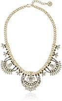 "BCBGeneration Crystal Clear"" Multi-Chain and Cup Drama Necklace, 18'' + 2"" Extender"