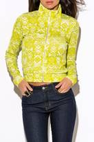W by Wenjie Lime Green Jacket