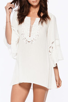 L-Space L'Space Breakaway Coverup Ivory