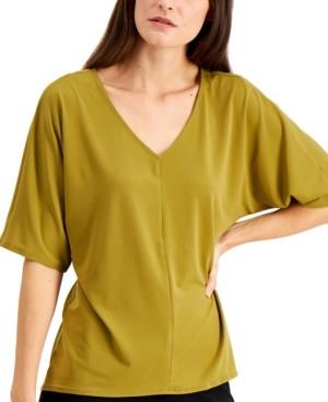 Alfani Knit High-Low Hem Top, Created for Macy's