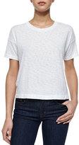 Rag & Bone Suzanne Slub-Knit T-Shirt