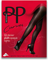 Pretty Polly Curves Plush Tights Plus Size