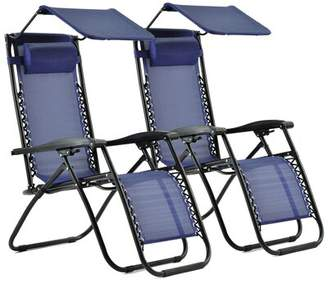 Zero Gravity Shediac Reclining/Folding Chair Latitude Run