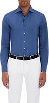 Cifonelli Men's Cotton-Silk Dress Shirt
