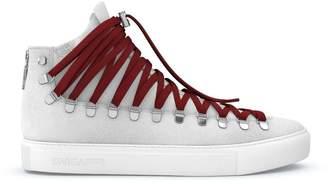 Swear x Joel Gallucks Redchurch laced hi-top sneakers