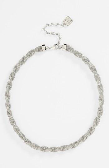 Anne Klein Twisted Collar Necklace