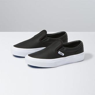 Vans Kids Perf Leather Slip-On