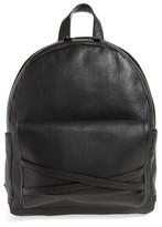 Eleventy Men's Leather Backpack - Black