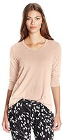 Wilt Women's Shrunken Three-Quarter-Sleeve Repeat