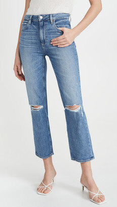 Paige Margot Straight Ankle Jeans