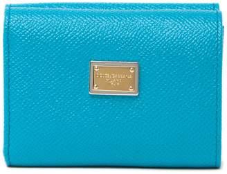 Dolce & Gabbana Dauphine Ricamo Leather Wallet