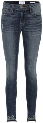 Frame Jeanne Front Chew skinny jeans