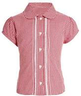 Next Girls Red/White Gingham Blouse (3-14yrs) - Red