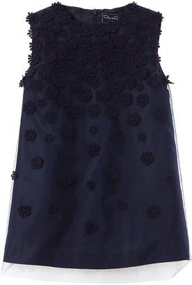 Oscar de la Renta A-Line Silk-Lined Party Dress