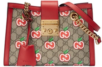 Gucci Chinese Valentine's Day Padlock GG small shoulder bag
