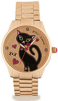Betsey Johnson Cat Bracelet Watch