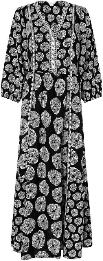 Thumbnail for your product : Monsoon Ashoka Circle Print Midi Dress