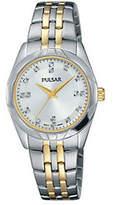 Pulsar Women's Two-Tone Stainless Steel Bracelet Watch