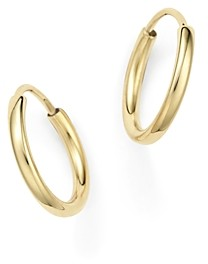 Bloomingdale's 14K Yellow Gold Small Endless Hoop Earrings - 100% Exclusive