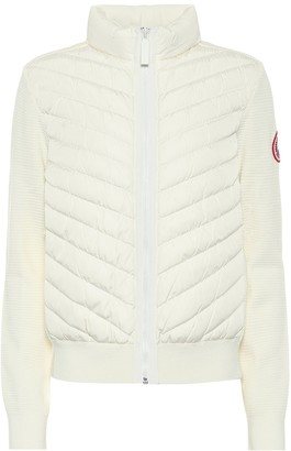 Canada Goose HyBridge down and wool jacket