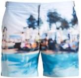 Orlebar Brown Bulldog Photographic swim shorts