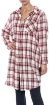 Easel Linen Plaid Shirt