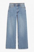 Thumbnail for your product : Monki Yoko mid blue jeans