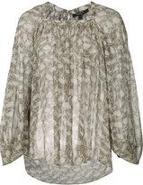 Derek Lam patterned blouse