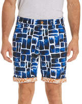 Robert Graham Varadero Square-Print Shorts