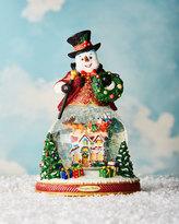 Christopher Radko Resting on His Laurels Snow Globe